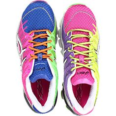 Asics Gel-Kinsei 4 Women's Running Shoes - so cool! Pink Sneakers, Sneakers Fashion, Wedge Boots, Shoe Boots, Asics Gel Kinsei, Fitbit, Colorful Shoes, Free Clothes, New Shoes