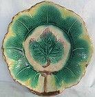 Majolica Leaf plate.