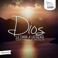 Filipenses 4:19 #Biblia #MinisteriosEbenezer