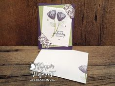 Stampin Up Bunches of Blossoms