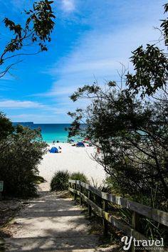 Famous Hyams Beach in Australia