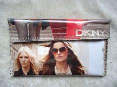 DKNY Fashion Magazine Wallet Clutch Purse by creationsbyingrid, $7.50