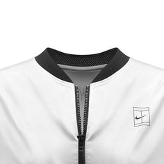 """""""Introducing the #NikeCourt Bomber Jacket.  Inspired by Williams' inventive style, the cornerstone of the Greatness Collection reimagines the classic…"""""""