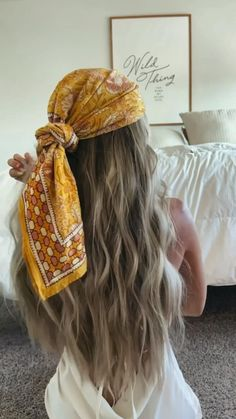 Bandana Hairstyles For Long Hair, Scarf Hairstyles, Hairstyles For Fall, Hair With Bandana, Pirate Hairstyles, Hair Bandanas, Weird Hairstyles, Hair Scarf Styles, Scarf In Hair