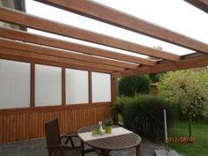 Superb Terrassen berdachung x m mit Stegplatten und Montage