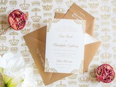 Check out our guide to addressing wedding invitation envelopes correctly—according to etiquette.