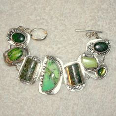 Chelle' Rawlsky chrysoprase ruby in zoisite ruby in by AnniPearls