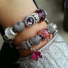 #pandora #myarmparty #pandorajewelry #myPANDORAgift #my_pandora_story…
