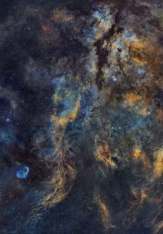Universo Mágico: Paisaje del centro del Cisne