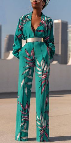 Women's elegant pure color belt jumpsuits, sleeves design, long sleeves design and short sleeves design you can option. Free shipping order $69+, shop now! #elegant #jumpsuit #women #outfits