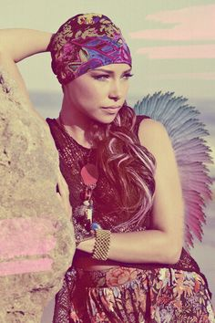 bohemian style- jessica parker kennedy