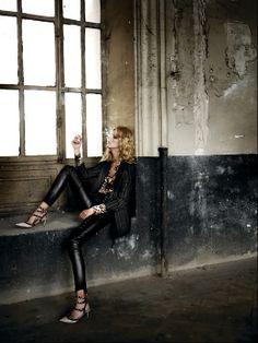 Smoking | Waiting Black Tie | Leather | Stripes | Valentino