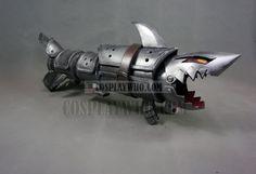 Fishbone weapon League of Legends Jinx Fishbone Rocket Launcher