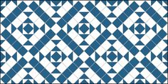 Clarendon Design in Blue & White