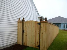 Wood Fence Gate Designs Ideas