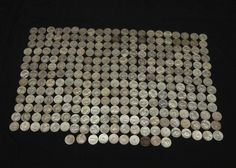 """Approx 240 silver quarters incl """"1963"""", """"1950"""", """"1961"""", """"1948"""", """"1962"""", """"1949"""", """"1964"""", """"1935"""", """"1936"""", """"1954"""", """"1947"""", """"1936"""", """"1968"""", """"1941"""", """"1940"""", """"1960"""", """"1958"""", """"1945"""", """"1962"""", """"1957"""", """"1953"""", """"1952"""", """"1966"""", """"1942"""", """"1943"""", """"1939"""", etc. Coins, Jewelry & Paper Money Auction ending 6/5/13"""