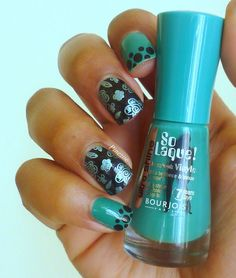 french dot and stamping