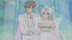 Neo Queen Serenity & King Endymion #sailormooncrystal #sailormoon