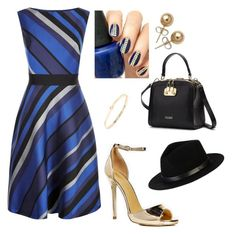 """""""#Blue #Black #3sets"""" by lydianin on Polyvore featuring Fenn Wright Manson, Boohoo, Bling Jewelry, South Moon Under and Brixton"""