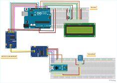Принципиальная схема для взаимодействия модуля CAN BUS MCP2515 с Arduino Controller Area Network, Can Bus, Writing Programs, Data Transmission, Circuit Diagram, Canning, Communication, Projects, Car