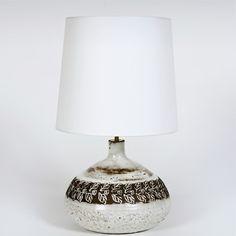 Albert Thiry - Ceramic Table Lamp. France, Vallauris, circa 1960  www.galerieriviera.com