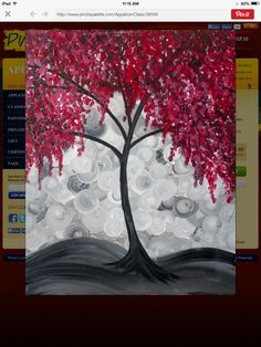 Chestnut Ridge Winery Brushes and Blushes Painting Class