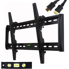 TV Ceiling Mount Bracket for 26 28 29 32 39 40 42 46 48 50 55 LED LCD Plasma 1OB