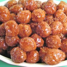 Honey-Glazed-Lamb Meatballs by Gluten Free Chef Paleo Recipes, Real Food Recipes, Cooking Recipes, Cooking Corn, Tapas, Lamb Meatballs, Jelly Meatballs, Albondigas, Caribbean Recipes