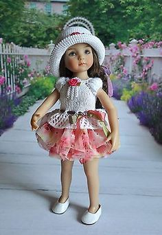 OOAK-OUTFIT-FOR-DOLLS-Little-Darlings-Effner-13. SOLD BIN $50.00 11/11/14. From Russia.