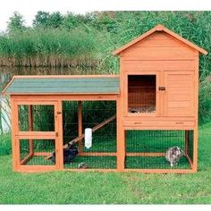 A large rabbit cage is ideal for rabbit exercise. Large rabbit cages can contain lots of stimuli to enrich your rabbit's life Rabbit Hutch And Run, Rabbit Hutch Plans, Outdoor Rabbit Hutch, Bunny Hutch, Rabbit Hutches, Rabbit Cages Outdoor, Cage Petit Animal, Small Animal Cage, Small Animals