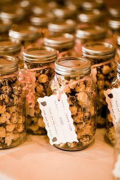 Kettle Corn! Potential wedding favor!? I think ill add `He popped the question`