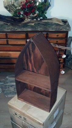Boat Shaped Shelves 2 Ft High (made To Order)
