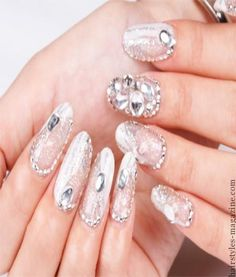 white acrylic nail design Collection of Chic Acrylic Nail Art designs to Make you spellbound!