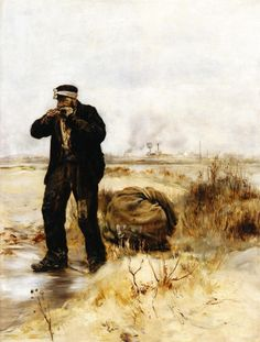 A Ragman Lighting His Pipe by Jean Francois Raffaelli (1850 1924) http://xaxor.com/oil-paintings/1151-jean-francois-raffaelli-1850-1924.html