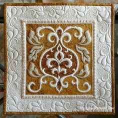 Trapunto-- I know this is a quilt, but I'd love to do this on some jacket cuffs