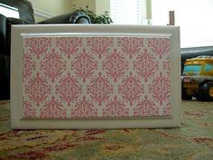The House Creative: Decoupage Furniture Decoupage Drawers, Rice Paper Decoupage, Decoupage Furniture, Refurbished Furniture, Paint Furniture, Furniture Projects, Diy Projects, Decoupage Ideas, Furniture Repair