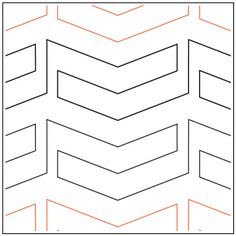 Stripes Pantograph © 2017 Patricia E. Ritter and Leisha Farnsworth