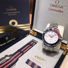 Omega Seamaster Commanders Edition