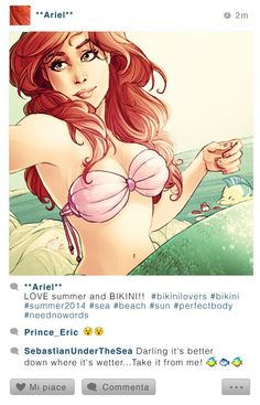 UCreative.com - Selfie Fables — Disney Alternative Art Illustrations by Simona Bonafini | UCreative.com