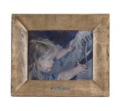 Oda Krohg, ´Et abonnement på Aftenposten´, 1887. Foto: Renato Langfeldt Historical Art, Contemporary, Modern, Paintings, Artists, Pictures, Museum Of Art, Trendy Tree, Paint