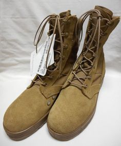 Nib Thorogood Hot Weather Steel Toe Boots Mens Size 8 R