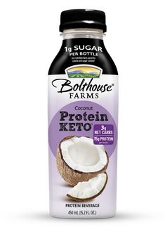 Protein KETO™ - Bolthouse Farms Low Carb Recipes, Yummy Recipes, Yummy Food, Bolthouse Farms, Coconut Protein, Keto Bread, Coconut Water, Beverages, Snacks