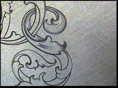 Sam Alfano's Tips & Tricks for Hand Engravers - Leaf Script