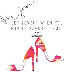 20% off bundles of 3/more items Hi ladies I give 20% off of bundles of 3/more items so please bundle up  kate spade Other