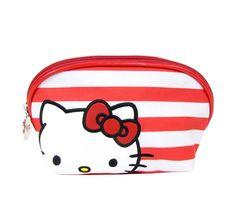 hello kitty cosmetic bag. cuteee!