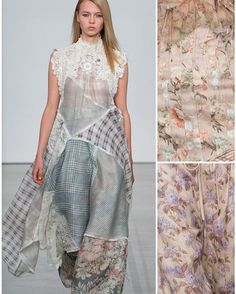 New York Fashion Week Print & Pattern Highlight: RTW Spring/Summer 2017 – Zimmermann. In this New York Fashion Week designer highlight, we look to Zimmermann's latest womenswear RTW collection. A touch of romanticism and soft prairie print looks drive this edgy collection for Spring 2017. Check out the Patternbank blog for more designer highlights!  #patternbank #prints #pattern #nyfw #nyfashion #fashionweek #runwayshow #catwalk #newyorkfashionweek #printalert #Zimmermann