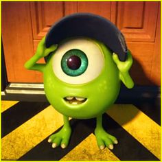 Little Mike in Monsters University was just the most adorable little monster ever!