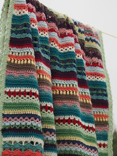 Betsy Makes ....: Spice of Life Blanket TA-DAHHHH!!!!