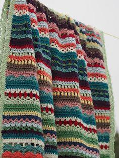 Betsy Makes ....: Spice of Life Blanket TA-DAHHHH!!!!