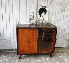 Vintage Schränke - Phonoschrank Barschrank 50er - ein Designerstück von Gerne_wieder bei DaWanda